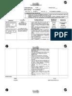 Planificación Didáctica Ciencias III Secundaria