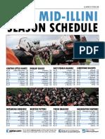2015 Mid-Illini Conference football schedule