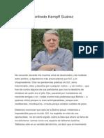 Opinion Politica de Bolivia
