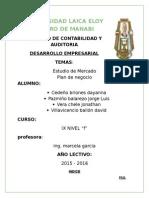 ESTUDIO DE MERCADO ULEAM