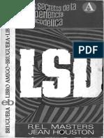 LSD LOS SECRETOS DE LA EXPERIENCIA PSICODÉLlCA R. E. L. Masters Jean Houston