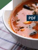 Soupe de moules à la chilienne