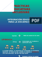 PRACTICAS EDUCATIVAS INCLUSIVAS