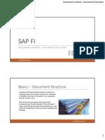 SAP Document Control - Document Structure