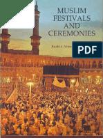 Muslim Festivals Ceremonies