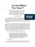 New Moon Biblical