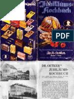 Dr. Oetker Jubiläumskochbuch 1916