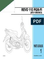 Part Catalog New Honda Revo FI