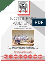 Notulensi Audiensi ISMKI KIDI 24 Jun 2015