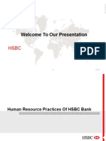 HRM practices of HSBC Bank