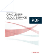 Oracle Erp Cloud Service