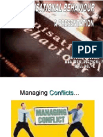 Managing Conflicts…