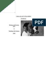 Caras Teaching Journal