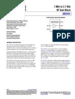 AD8354 datasheet