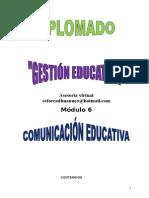 Modulo 6. Gestion Educativa