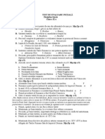 Test de Evaluare Initiala 2013 Cls. 9