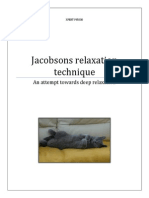Jacobsons Relaxation Technique