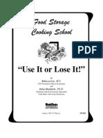 8079124 Food Storage Cooking School