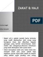Zakat & Haji
