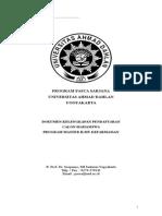 Formulir Pendaftaran s2 Farmasi