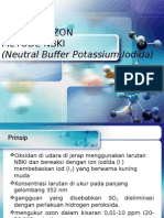 ANALISA O3 (Neutral Buffer Potassium Iodida)