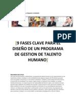Alejandro G Delobelle 9 Fases Clave Diseno Programa Gestion Del Talento Humano