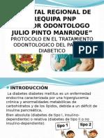Protocolo en tratamiento Odontologico Del Paciente Diabetico Pnp