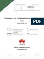 W-Handover and Call Drop Problem Optimization Guide-20081223-A-3.3