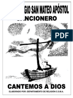 Cuadernillo Cantos 2013 - 2014 Pasta Blanca 47 Pag