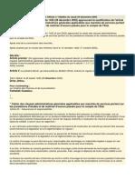 décret n° 2-05-1434 du 26 kaada 1426 (28 décembre 2005) CCAGModif article 20