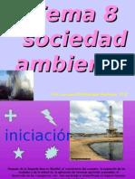 Tema 8 sociedad y medioambiente