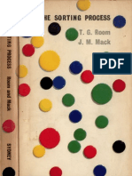 The Sorting Process - A Study in Mathematical Structure (T.G. Room, J.M. Mack)