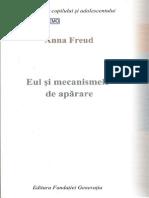 49019623 Anna Freud Eul Si Mecanismele de Aparare