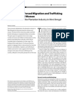 Vulnerability Forced Migration and Trafficking in Children and Women