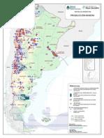 Mapa - Produccion Mineria Hidrocarburos