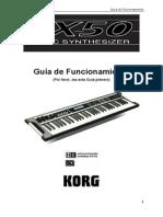 KORG X50 Funcionamiento