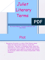 Juliet Literary Terms