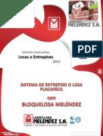 Manual Tecnico Entrelosa Placa Facil Ladrillera Melendez