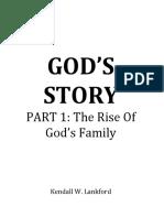 GOD'S STORY Part 1