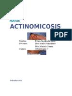 ACTINOMICOSIS