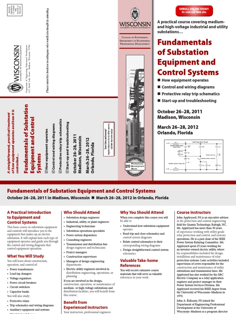 fundamentals of substation equipment and control systems | electric power  system | electrical substation