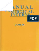 Manual for Surgical Interns