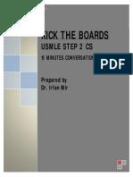 Irfanmir 15 Minutes Conversation Notes (Usmle Step 2cs)