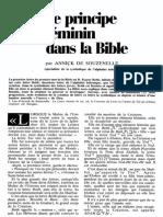 Annick de Souzenelle - Le Principe Féminin Dans La Bible 1984