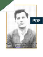 Wittgenstein, Ludwig - Tractatus Logico-philosophicus- Español