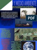 Presentación de la contaminación