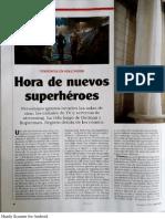 Noticias - Hora de nuevos Superhéroes