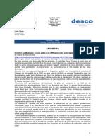 Noticias - News 25-Feb-10 RWI-DESCO