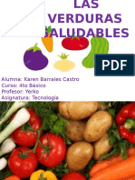 Las Verduras Saludables(Belen Barrales 4to)