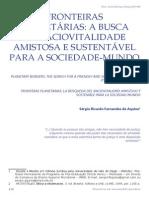 Sergio Aquino Fronteiras Planetarias